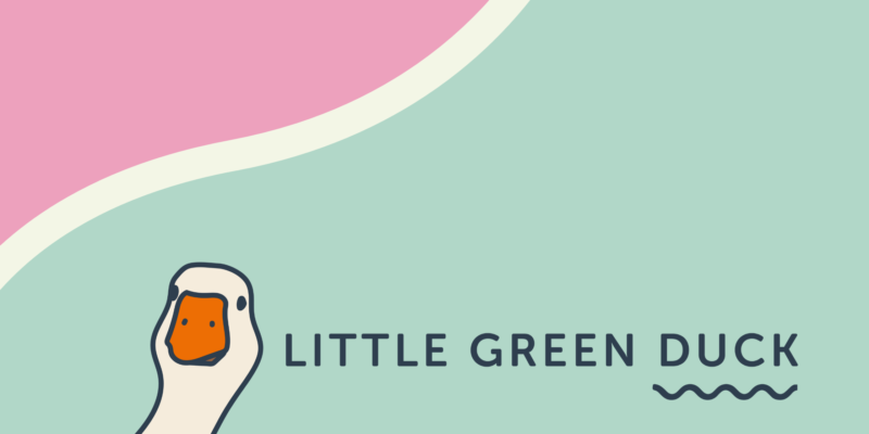 Sustainable-business-tips- Little Green Duck and the Duck Pond